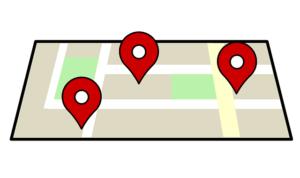 GPSのイメージイラスト